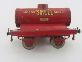 "Early Hornby Gauge 0 ""Shell"" Tank Wagon"