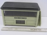 "Gauge 0 Wood Construction with Glass Windows ""Avon Junction"" Signal Box"