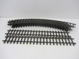 8 Lima Gauge 0 Curved Rails and 2 Straights