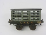 Early Hornby Gauge 0 Nut & Bolt Construction LNER Milk Traffic Van