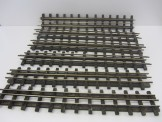 6 Gauge 0 18inch All Brass Straight Rails