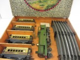 Early Hornby Gauge 0 Export No2 FCO Tank Passenger Set Boxed