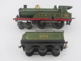 Early Hornby Gauge 0 C/W L&NER 2711 Locomotive and Tender
