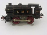 Scarce Hornby Gauge 0 LMS Black 6 Volt Electric No1 Tank Locomotive 7140