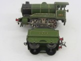 Hornby Gauge 0  LNER Light Green E120 Locomotive and Tender