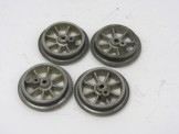 Hornby Gauge 0 set of replica wheels for Electric No1 Locomotives