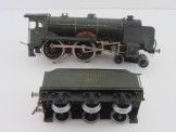 "Bassett- Lowke (Marklin) Gauge 0 12v DC SR 4-4-0 Schools Class Locomotive and Tender ""Merchant Taylors"""