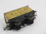 "Postwar Hornby Gauge 0 No50 ""Saxa Salt"" Wagon Boxed"