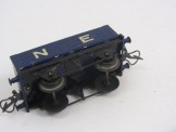 "Postwar Hornby Gauge 0 No 50 ""Trinidad"" Rotary Tipping Wagon Boxed"