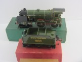 Postwar Hornby Gauge 0 No50 BR Goods Van Boxed