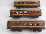 Postwar Hornby Gauge 0 No50 Low Sided Wagon with Furniture Container Boxed