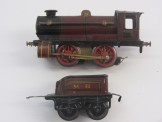 Postwar Hornby Gauge 0 No50 BR Goods Brake Van Boxed