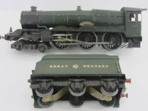 "Leeds or Similar Gauge 0 Great Western 12v DC 4-6-0 King Class Locomotive and Tender ""King George V"""