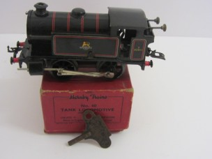 Postwar Hornby Gauge 0 C/W No40 BR Tank Locomotive Boxed